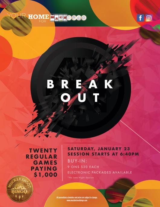 Breakout Saturday