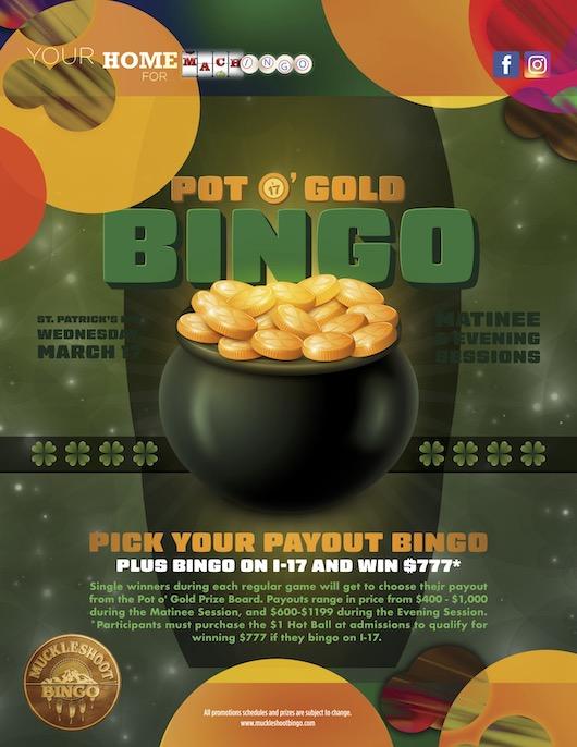 Pot O' Gold Bingo
