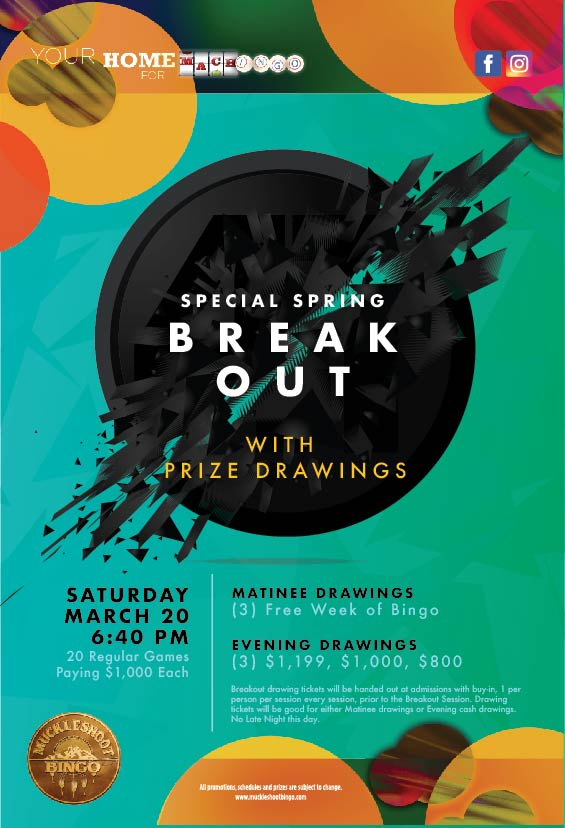 Spring Breakout with Drawings