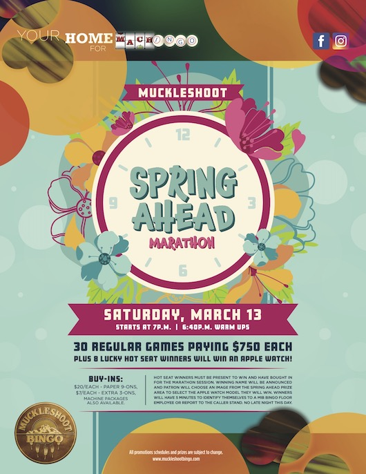 Muckleshoot's Spring Ahead Marathon