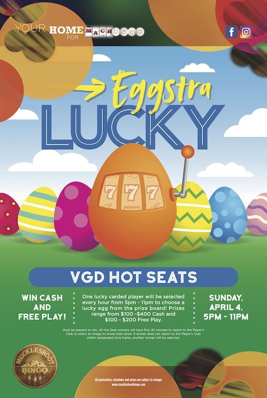 Eggstra Lucky VGD Hot Seats