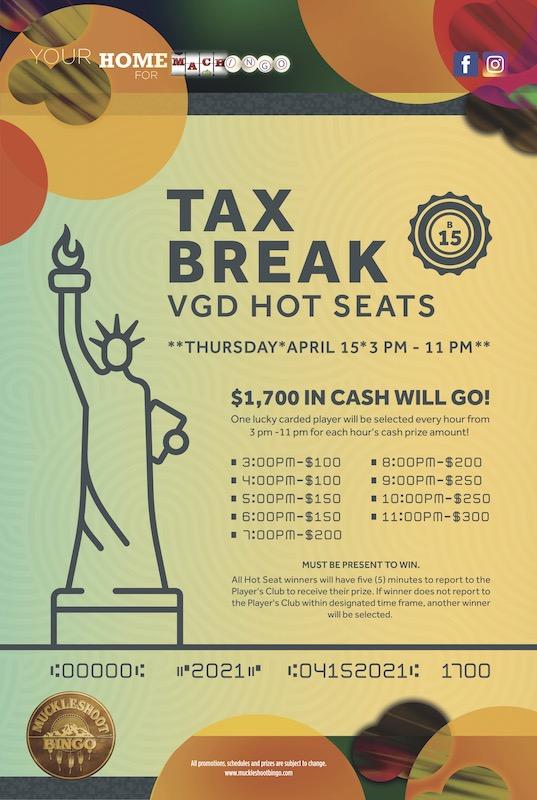 Tax Break VGD Hot Seats
