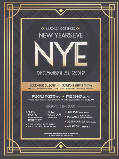 New Year's Eve Pre-Sale