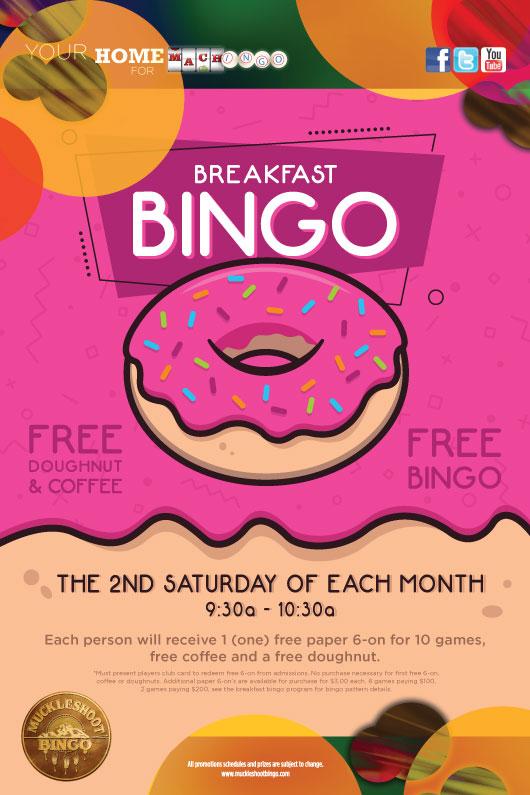 Breakfast Bingo December