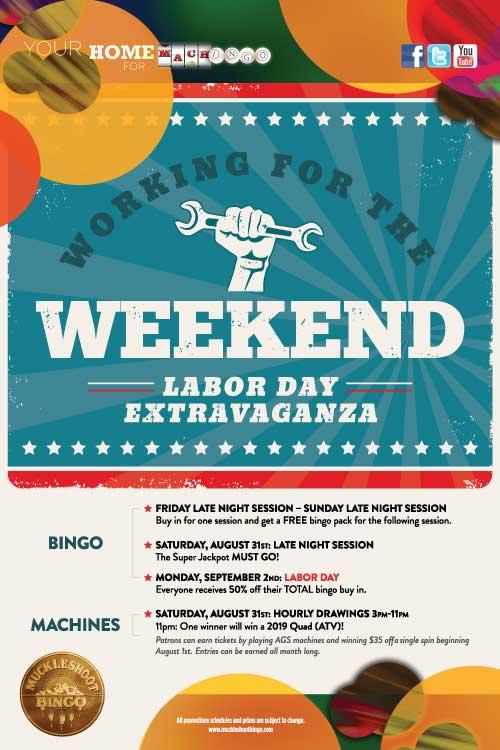 Labor Day Weekend Extravaganza
