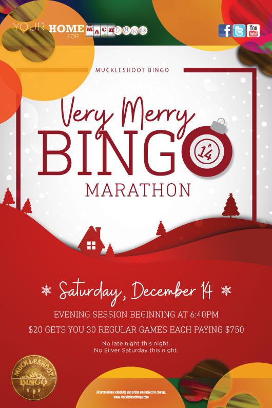 Very Merry Bingo Marathon